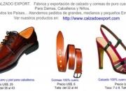 E & R CALZADO EXPORT - MODERNOS DISEÑOS EN ZAPATOS DE CUERO Y PIEL, A PRECIOS INCREIBLES