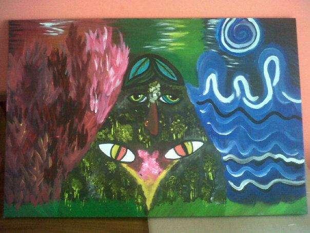 El nuevo arte abstracto y con sentido del sentimiento confuso