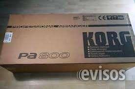 En venta: korg pa900, pa800, pa600, pa500