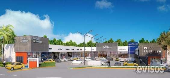 Locales comerciales - plaza la siesta - venta y alquiler