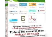 Potente Software para publicar en 10 clasificados en Panama