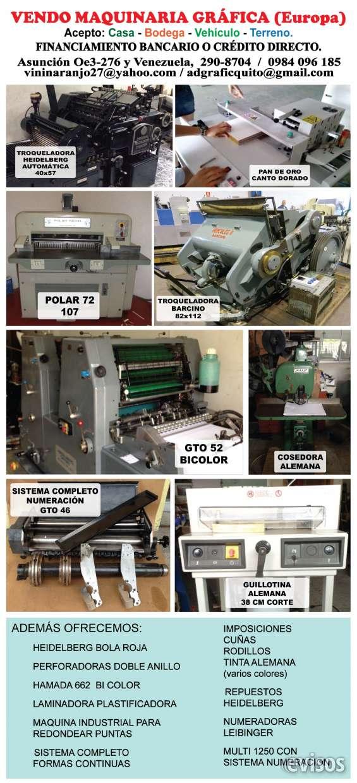 Maquinaria de imprenta