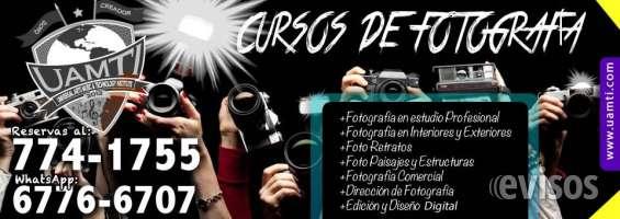 Cursos de fotografía profesional