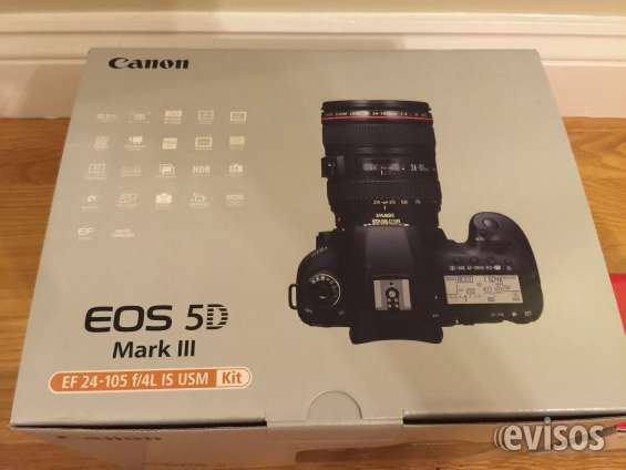 Canon eos 5d mark iii + lente ef 24-105mm