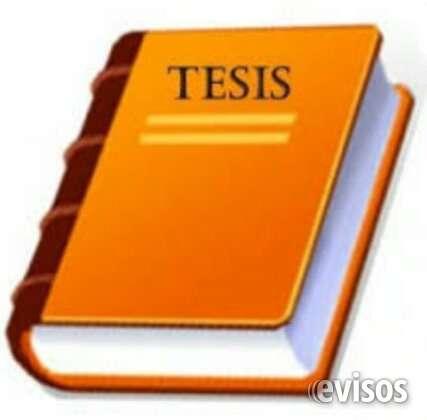Tutorias personalizadas en monografias tesis tesinas