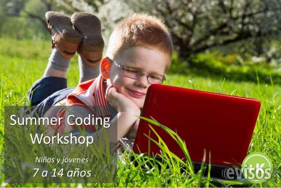 Talleres de verano summer coding workshop para niños 7-14 años, panamá