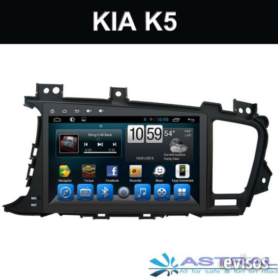 China fábrica android 6.0 radio pantalla bluetooth 2 din kia k5 optima