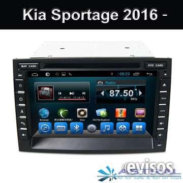 Radio de coche con pantalla tactil fabricante oem profesional kia sportage 2016