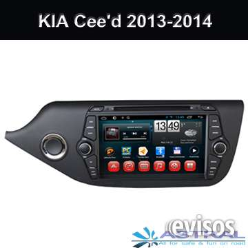 Radio de coche con pantalla tactil
