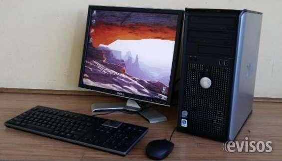 Computadoras economicas cpu + monitor + teclado (poco uso)