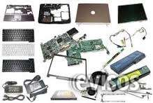 Todo tipo de piezas y repuestos para laptop