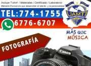 Gran Curso de Fotografia en David, Chiriquí