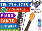 cursos exclusivos de música endavid, academia uamtiWhatsApp 6776-6707 Tel: 774-1755
