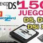 150 Juegos para Nintendo DSi XL y DS: ACEKARD 2i + 4GB - R4, Chip Wii