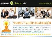 Programa Corporativo de Talleres y Sesiones de Meditación