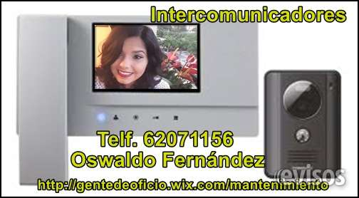 Audio vídeos - intercomunicadores.