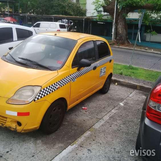 Chofer de taxi chevy
