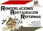 REMODELACION REFORMAS RESTAURACIÓN GENERAL