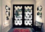 Confección de puertas decorativas