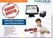 SUPER OFERTA DE SOFTWARE PARA RESTAURANTES Y NEGOCIOS AFINES