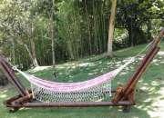 Venta de artesanias en bambu