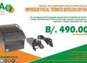 IMPRESORA FISCAL A TAN SOLO $490.00