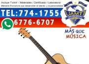 Aprovecha estos Carnavales y Matricúlate en nuestro Exclusivo Curso de Guitarra!