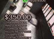Chiva Parrandera 6916-4506 Alquiler