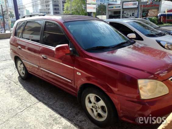 Vendo kia carens mini van - excelente oportunidad
