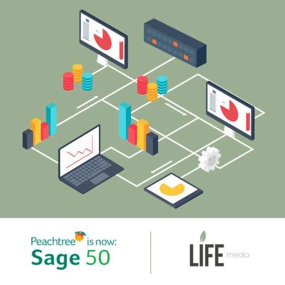 Peachtree sage 50 | venta implementación | soporte técnico