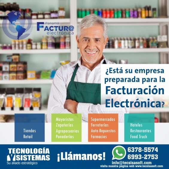 Software punto de ventas y facturación electrónica fácil en panamá