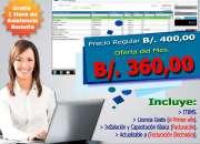 Software administrativo y punto de ventas (pos) para empresas retail