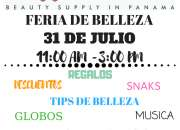 LA COLMENA SALA DE BELLEZA Y SUPPLY FERIA DE BELLEZA