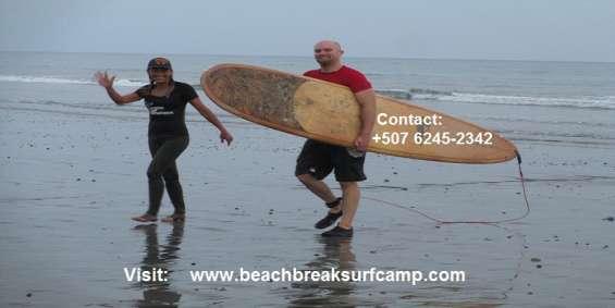 Playa venao surf school - surf lessons panama