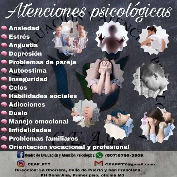 Atención y evaluación psicológica