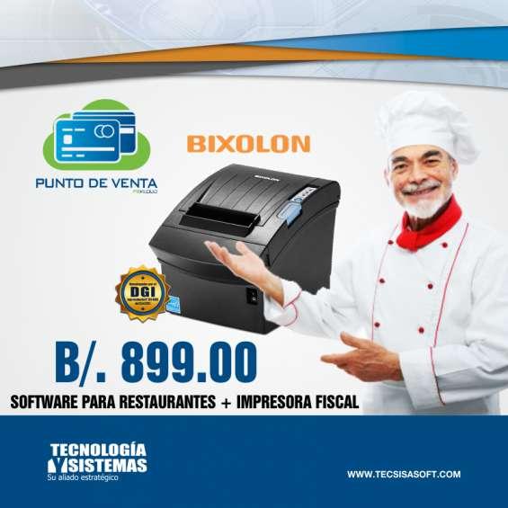 Sistema administrativo y de ventas para restaurantes en penonomé