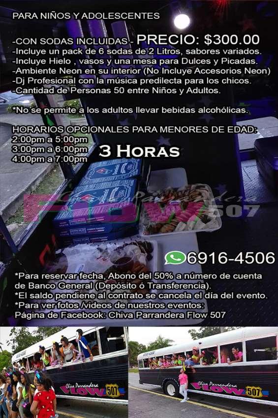 Chiva parrandera flow 507 - para niños 6916-4506