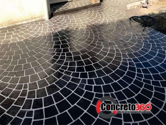 Fotos de Pisos de concreto decorativos y revestimiento de paredes 3