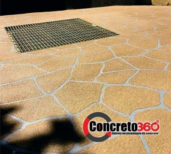 Fotos de Pisos de concreto decorativos y revestimiento de paredes 2