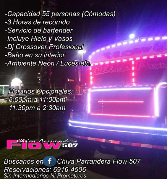 Chivas parranderas - alquiler 3 horas 6916-4506