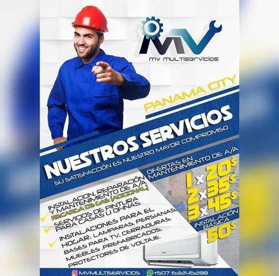 Servicio tecnico refrigeracion, instalaciones y mantenimientos de a/a