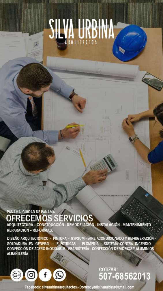 Construcción – arquitectura - remodelación - instalación - mantenimiento – reparación