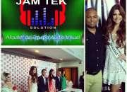 Alquiler de equipos de audio, video, estructuras e iluminación en Panama