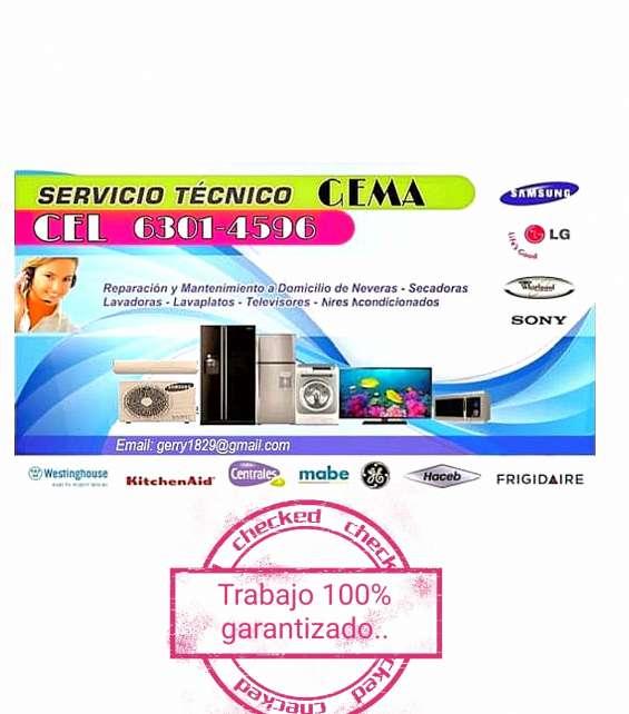 Tecnicos en refrigeracion linea blanca etc servicios gema