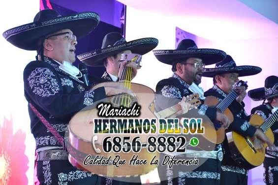 """Mariachi hermanos del sol """"música para eventos"""""""