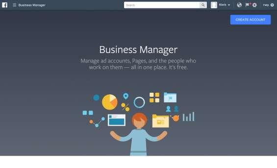 Necesito facebook business manager - gran compensacion!