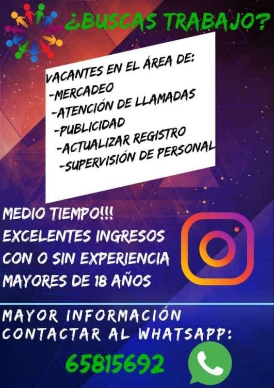 Buscas trabajo!!!