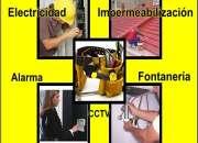 Electricidad - Lámparas - Abanicos - Tomacorriente - swich