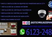 Servicios de instalación y configuración de equipos de seguridad