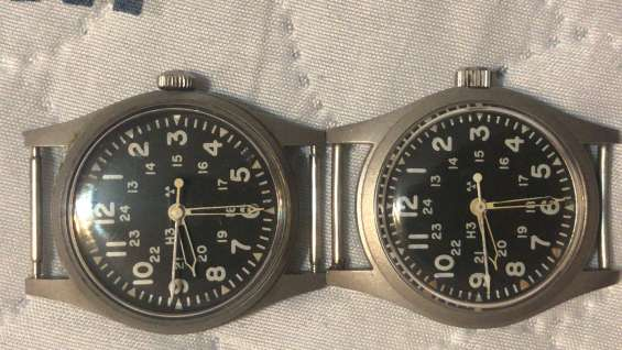 Vendo dos relojes hamilton vintage